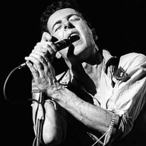 Joe Strummer of the Clash by Ebet Roberts