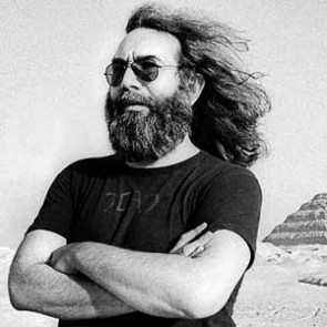 Jerry Garcia of the Grateful Dead by Adrian Boot