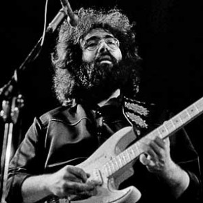 Jerry Garcia of the Grateful Dead by Barrie Wentzell