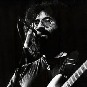 Jerry Garcia of the Grateful Dead by Gijsbert Hanekroot