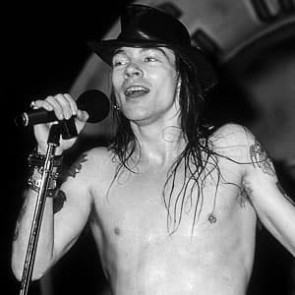 Axl Rose of Guns N' Roses by Ken Settle
