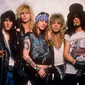 Guns N' Roses by Neil Zlozower