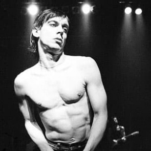 Iggy Pop by Ian Dickson