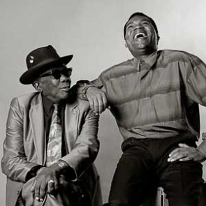 John Lee Hooker & Robert Cray by Ken Settle