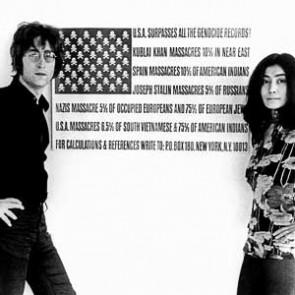 John Lennon & Yoko Ono by Barrie Wentzell