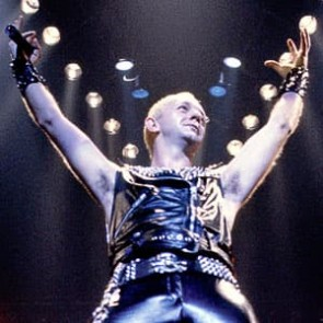 Rob Halford of Judas Priest by Al Rendon