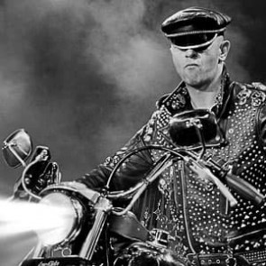 Rob Halford of Judas Priest by Ken Settle
