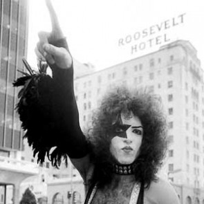 Paul Stanley of Kiss by Barry Schultz