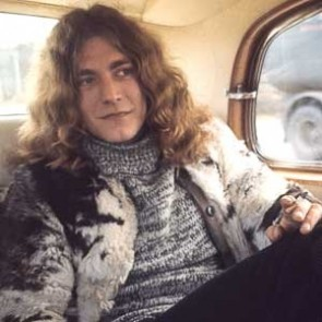 Robert Plant of Led Zeppelin by Barrie Wentzell