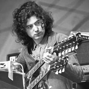 Jimmy Page of Led Zeppelin by Gijsbert Hanekroot
