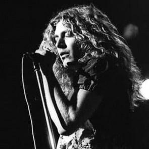 Robert Plant of Led Zeppelin by Ian Dickson