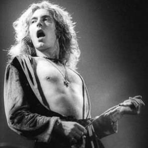 Robert Plant of Led Zeppelin by Neil Zlozower