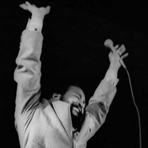 Marvin Gaye by Christian Rose