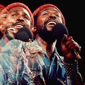 Marvin Gaye by Jim Britt