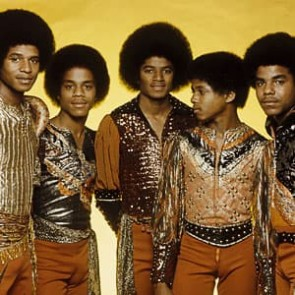 Michael Jackson w/the Jacksons by Gijsbert Hanekroot