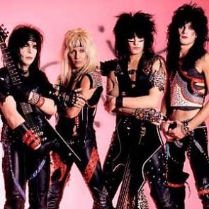Mötley Crüe by Ebet Roberts
