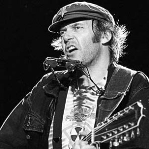Neil Young by Ebet Roberts