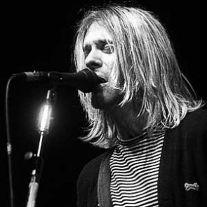 Kurt Cobain of Nirvana by Ebet Roberts