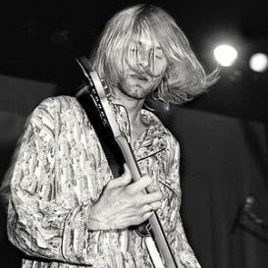 Kurt Cobain of Nirvana by Ken Settle