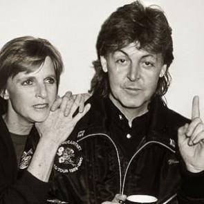 Paul & Linda McCartney by Ken Settle