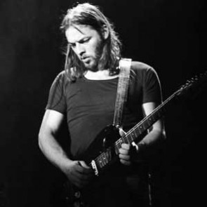 David Gilmour of Pink Floyd by Barry Schultz