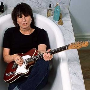 Chrissie Hynde of the Pretenders by Gered Mankowitz
