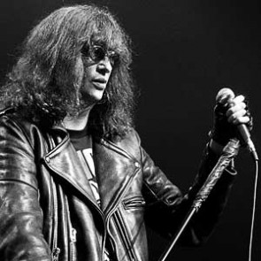 Joey Ramone of the Ramones by Ebet Roberts