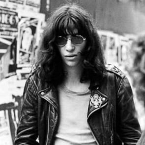 Joey Ramone of the Ramones by Ian Dickson