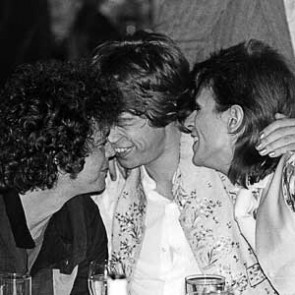 Lou Reed, Mick Jagger & David Bowie by Mick Rock