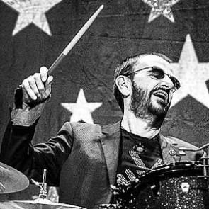 Ringo Starr by Jérôme Brunet