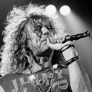 Robert Plant by Ken Settle