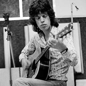 Mick Jagger of the Rolling Stones by Adrian Boot