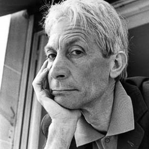 Charlie Watts of the Rolling Stones by Christian Rose