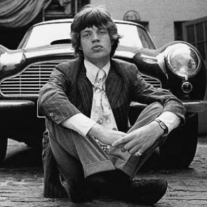 Mick Jagger of the Rolling Stones by Gered Mankowitz