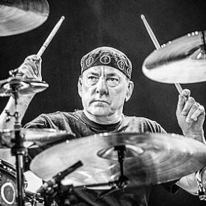 Neil Peart of Rush by Jérôme Brunet
