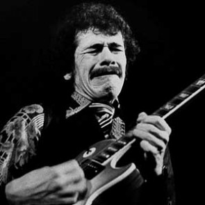 Carlos Santana by Barrie Wentzell