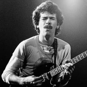 Carlos Santana by Gijsbert Hanekroot