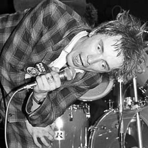 Johnny Rotten of the Sex Pistols by Ebet Roberts