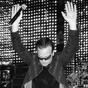Bono of U2 by Jérôme Brunet