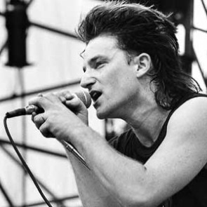 Bono of U2 by Neil Zlozower
