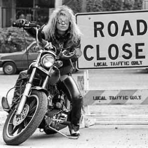 David Lee Roth of Van Halen by Neil Zlozower
