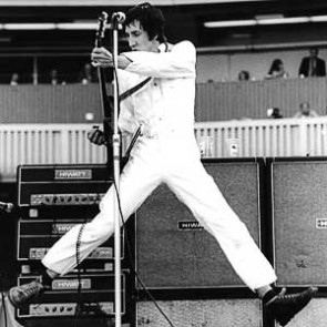 Pete Townshend of the Who by Neil Zlozower