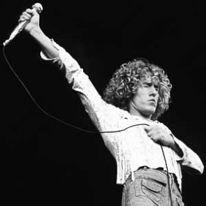 Roger Daltrey of the Who by Steve Emberton