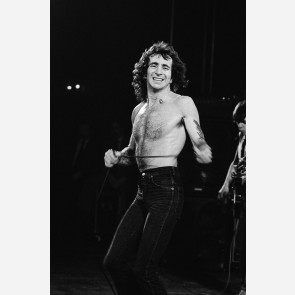 Bon Scott of AC/DC by Steve Emberton
