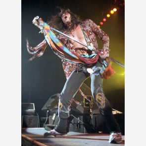 Steven Tyler of Aerosmith by Ian Dickson