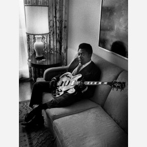 B.B. King by Barrie Wentzell