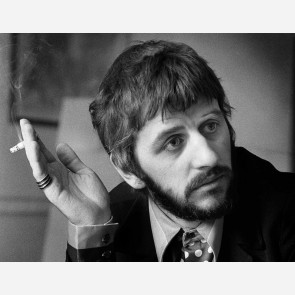 Ringo Starr of the Beatles by Barrie Wentzell