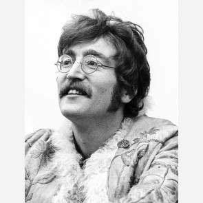 John Lennon of the Beatles by Barrie Wentzell
