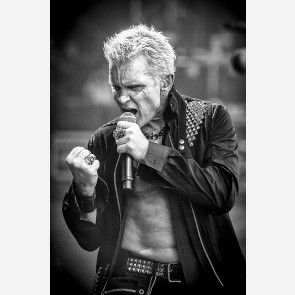Billy Idol by Jérôme Brunet