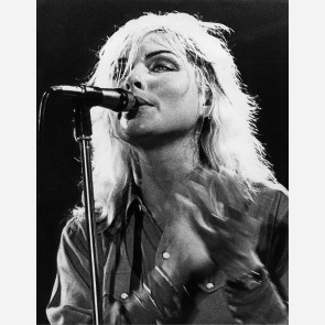 Debbie Harry of Blondie by Gijsbert Hanekroot